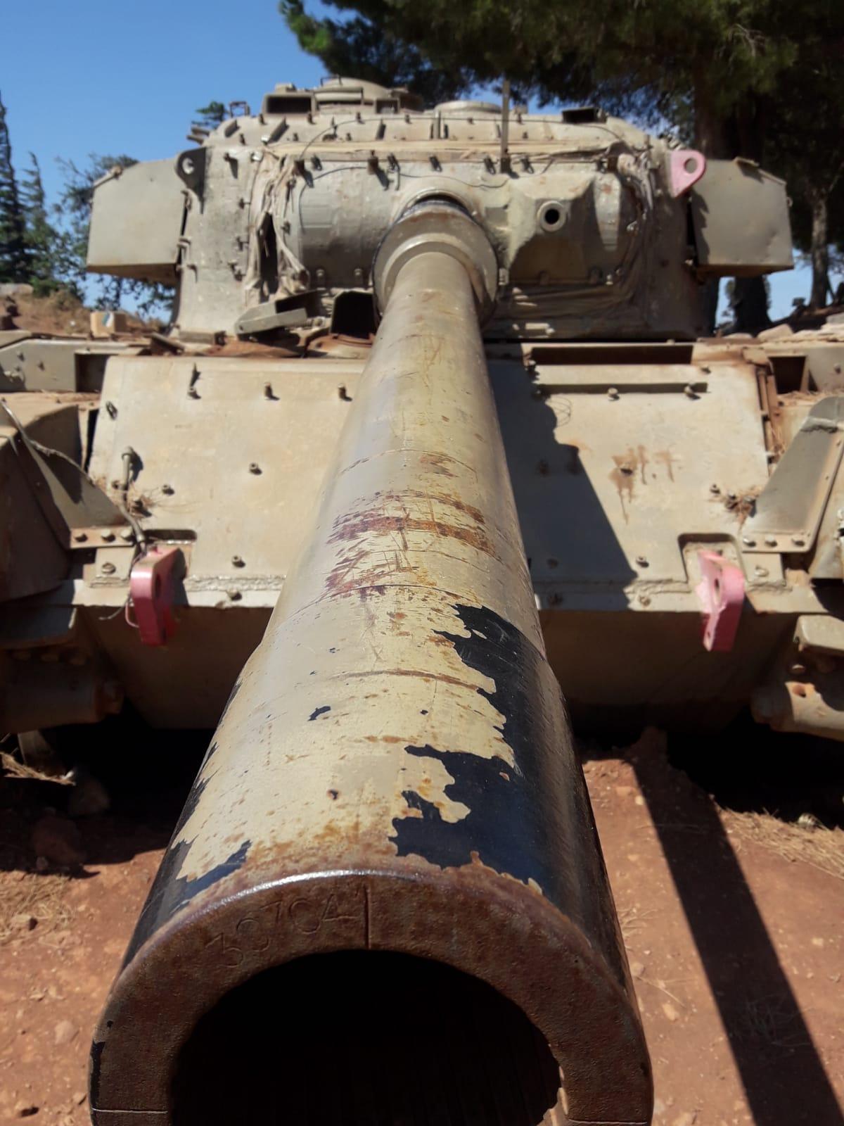 עוז 77 - טנק שוט