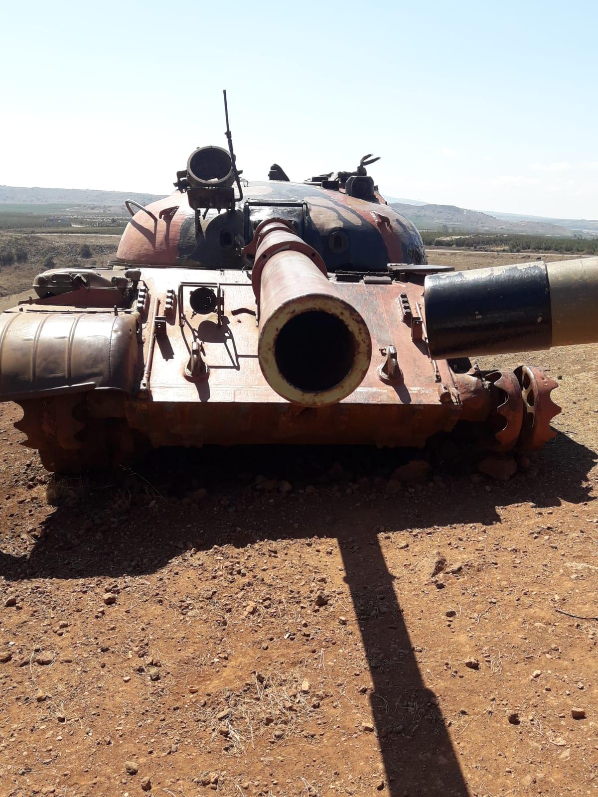 טנק גדוד עז 77 - קרב עמק הבכא