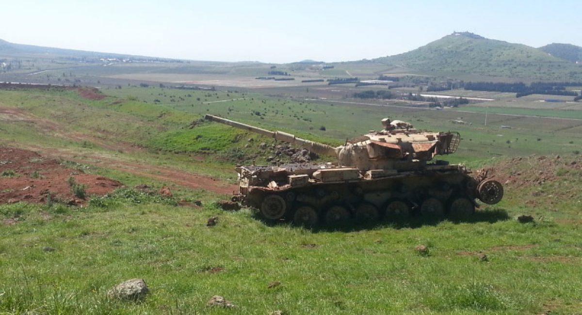 עוז 77 הקרב על רמת הגולן