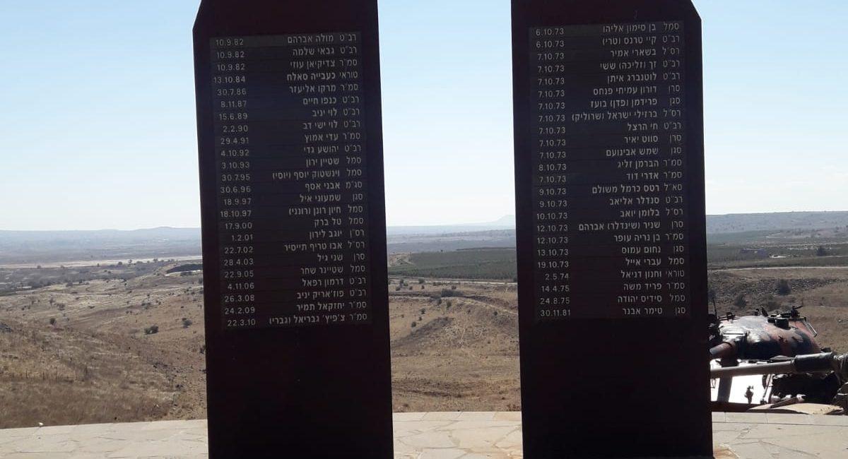 אנדרטת זכרון - עוז 77