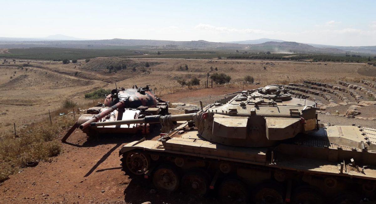 חיל השיריון - קרב עמק הבכא