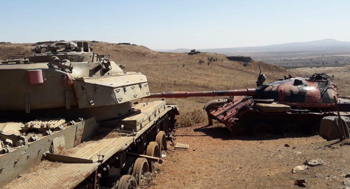 קרב עמק הבכא - הקרב על רמת הגולן