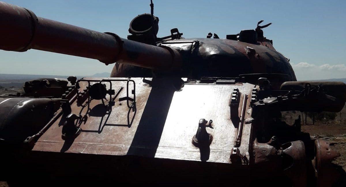 טנק גדוד עז 77